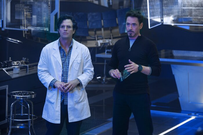 this picture of the avengers science bros together is absolutely
