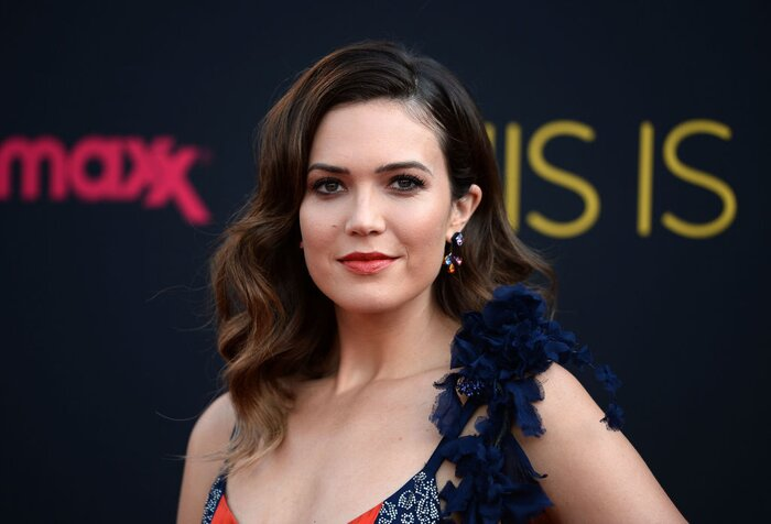 mandy moore clapped back at haters who said she uses photoshop on