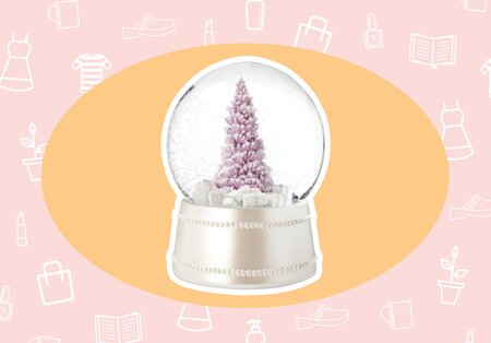 Wantneed A Pink Snow Globe To Put You In A Festive Mood And More