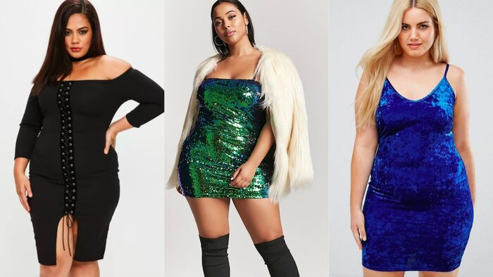 26 Cute Plus Size Dresses To Wear For New Years Eve Hellogiggles