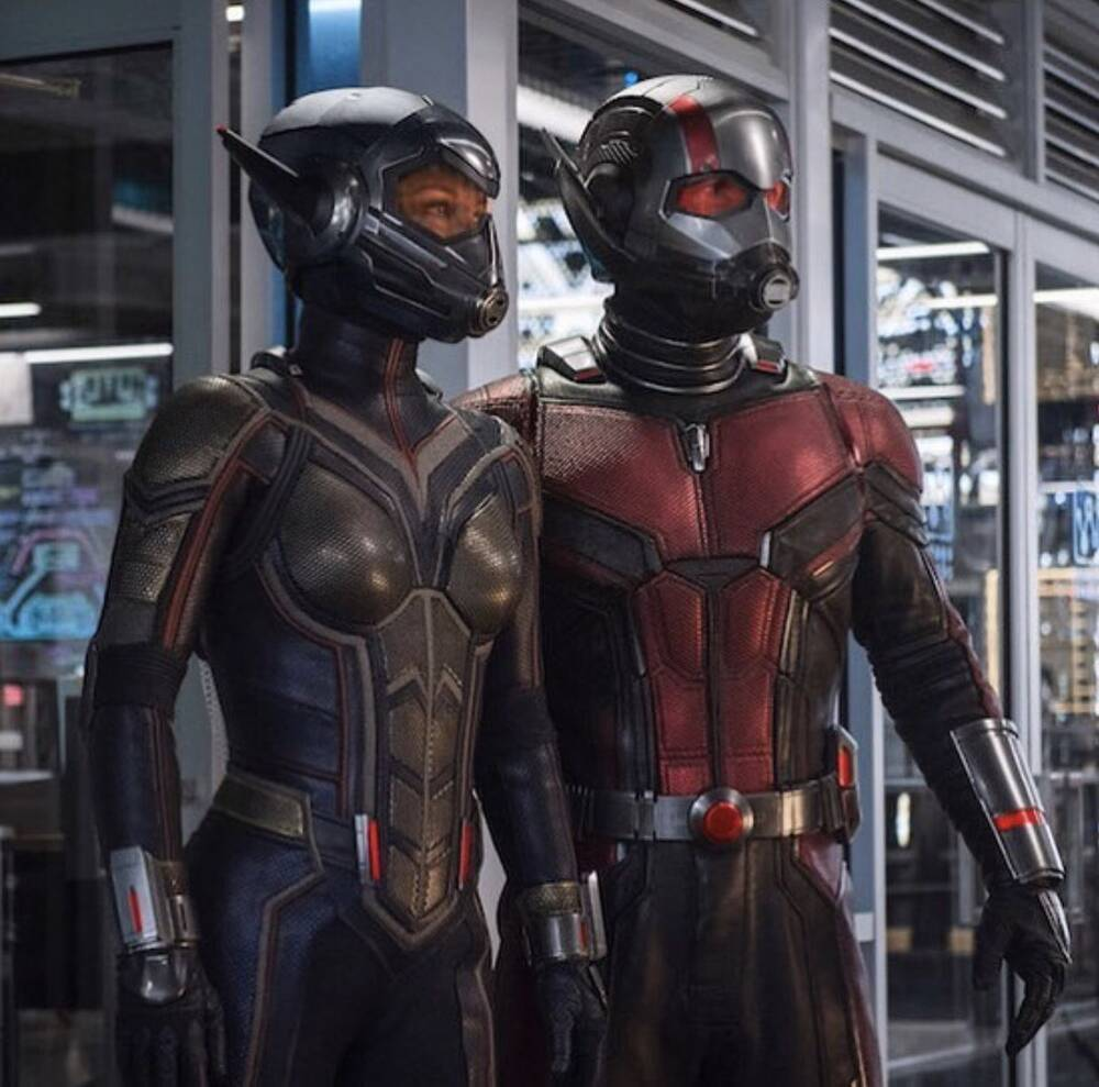 we can t unsee this detail about the wasp s costume in ant man and