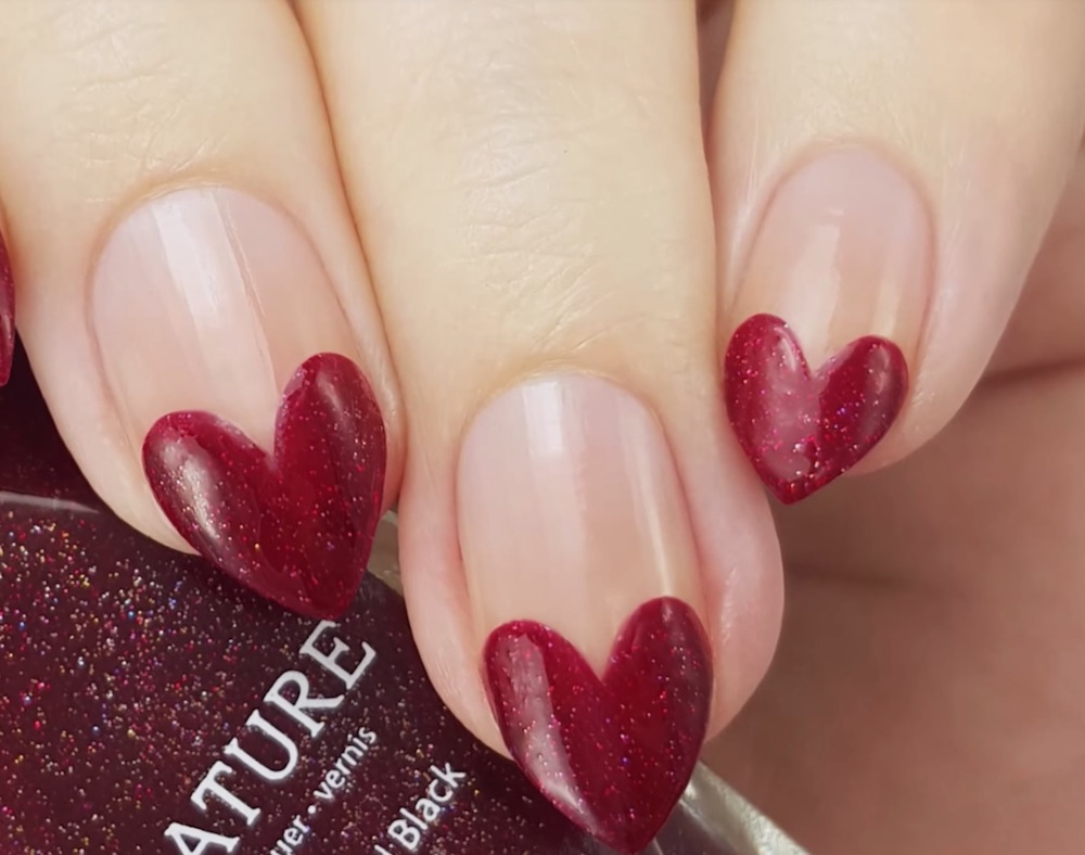 27 Valentine S Day Nail Art Designs On Youtube You Can Do Yourself