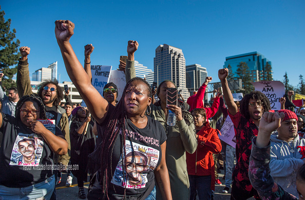 Image result for stephon clark protest images