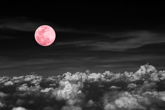 This Is The Pink Moon Meaning For Aprils Full Moon Hellogiggles