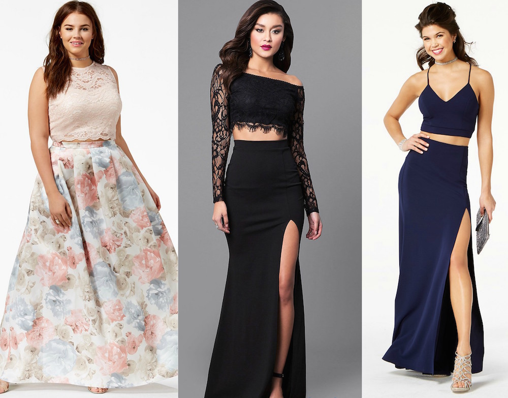 Two Piece Prom Dresses To Wear Over And Over Again Hellogiggles