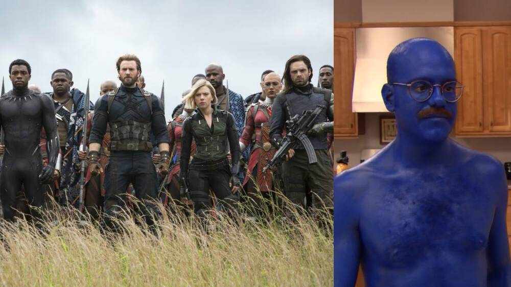 infinity war includes one very blue arrested development cameo