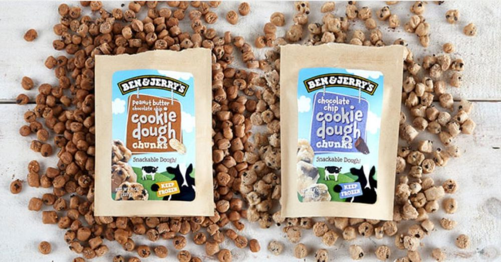 Image result for ben and jerry cookie dough chunks