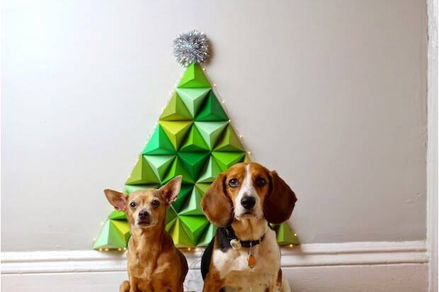 11 christmas tree alternatives to diy for a small apartment hellogiggles