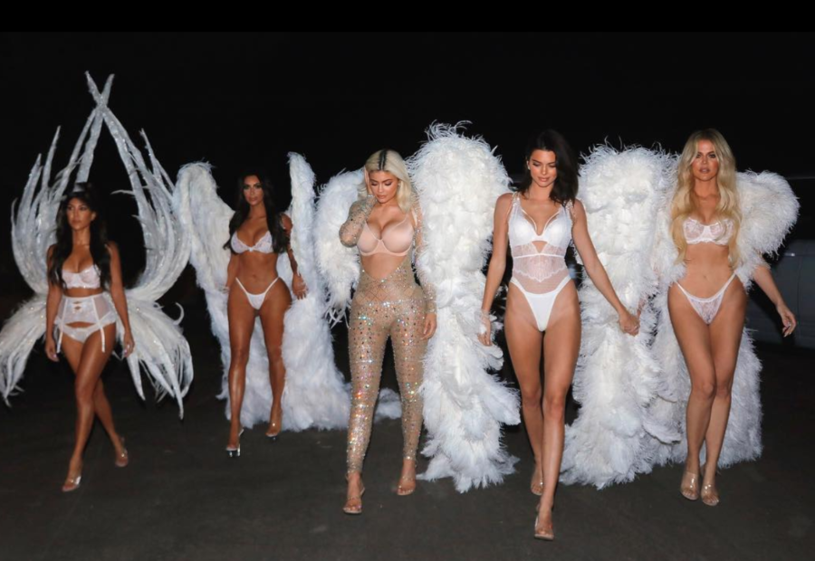 Image result for the kardashians as victoria secret angels