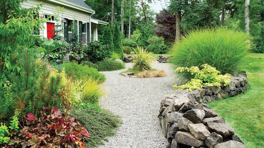 How To Landscape Gravel Sunset Magazine