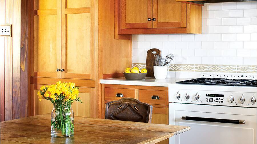Bright kitchen (after)