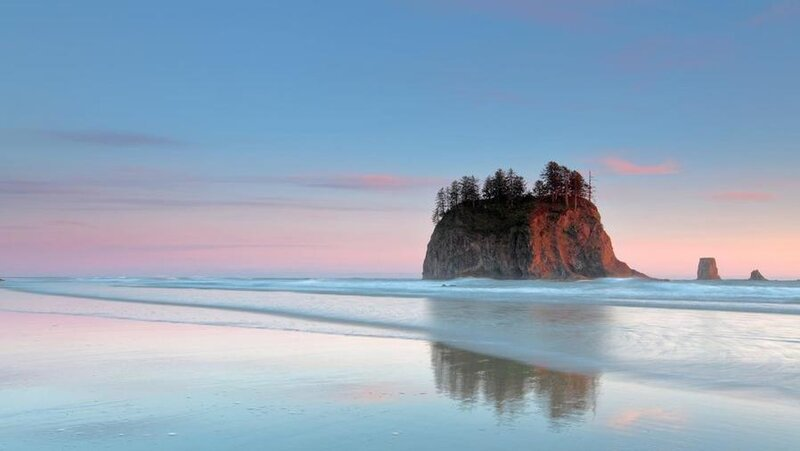 Washington: Second Beach, Olympic National Park
