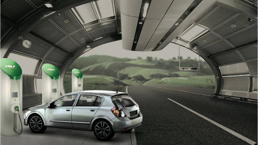 The Electric Car Road Trip Of Future