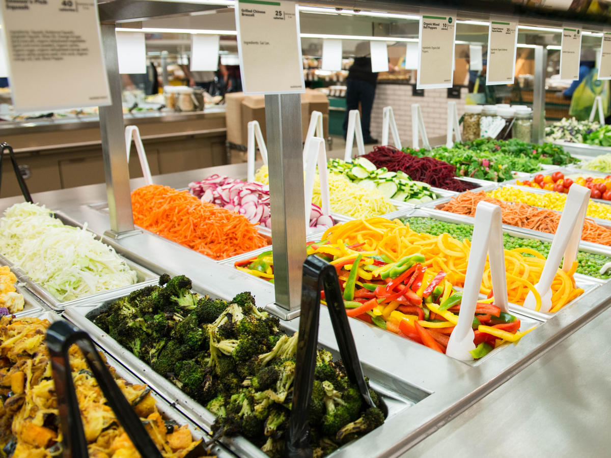 Whole Foods Salad Bar Tongs