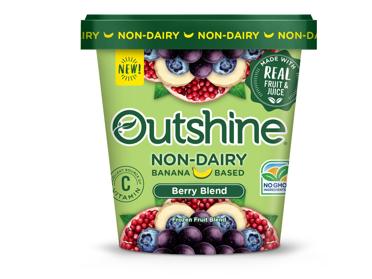 Outshine Non-Dairy Scoops - Berry Blend