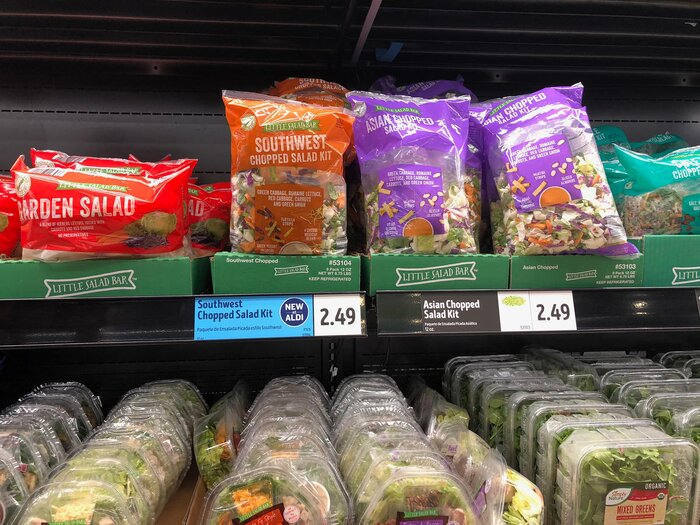 1808w Chopped Salads Aldi