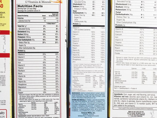 FDA Nominee Wants to Delay Changes to Nutrition Labels