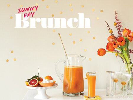 Sunny Day Brunch Menu Cooking Light