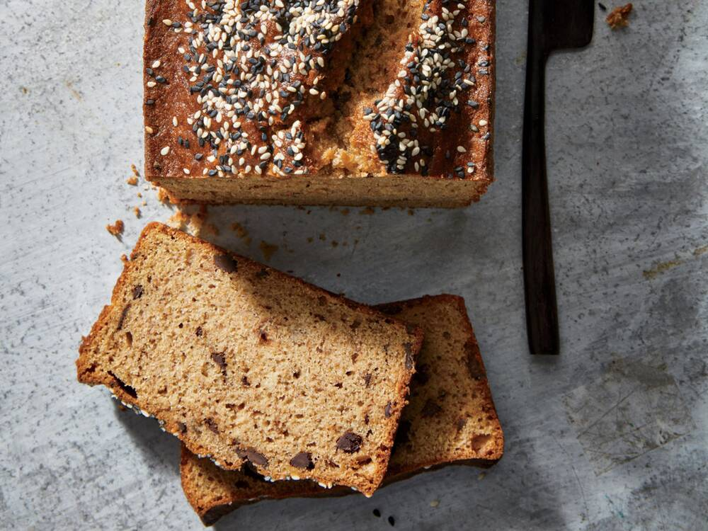 30 best quick bread recipes cooking light chocolate tahini banana bread forumfinder Images