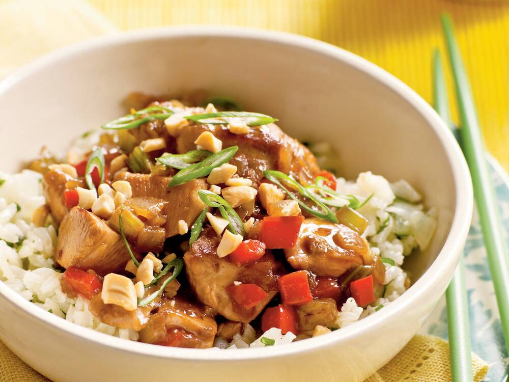 100 easy chicken recipes cooking light chicken and cashews recipes forumfinder Images