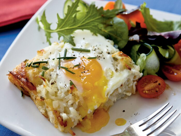 25 best vegetarian recipes cooking light rsti casserole with baked eggs forumfinder Choice Image
