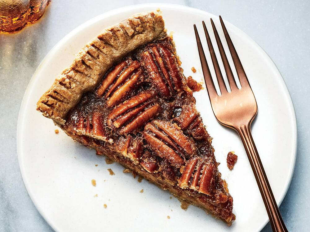 Thanksgiving dessert recipes easy recipe ideas cooking light pecan date pie forumfinder Image collections
