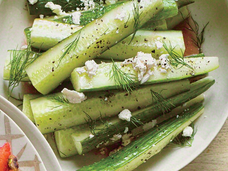 Greek Salad Cucumbers