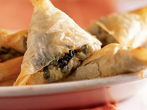 Our best greek inspired recipes cooking light mini spanakopitas recipe forumfinder Image collections