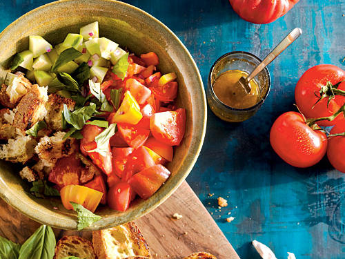 Order Your Salad Chopped with Tomatoes