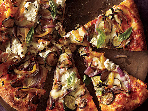 Swap Cheeses, Add Veggies for a Ligher Pizza