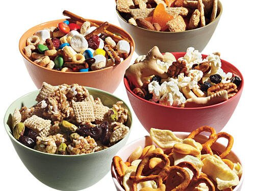 10 snack mix recipes cooking light snack mixes ccuart Image collections