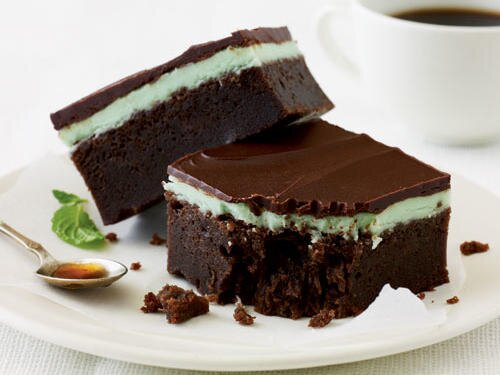 Chocolate Mint Bars Recipe