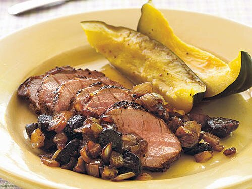 5 ingredient meat recipes cooking light pork tenderloin with balsamic onion fig relish forumfinder Choice Image