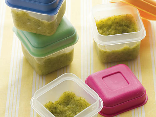 Homemade Baby Food Storage Cooking Light