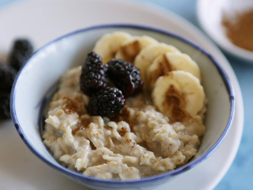 The only basic oatmeal recipe youll ever need cooking light 1801w basic oatmeal recipe ccuart Images