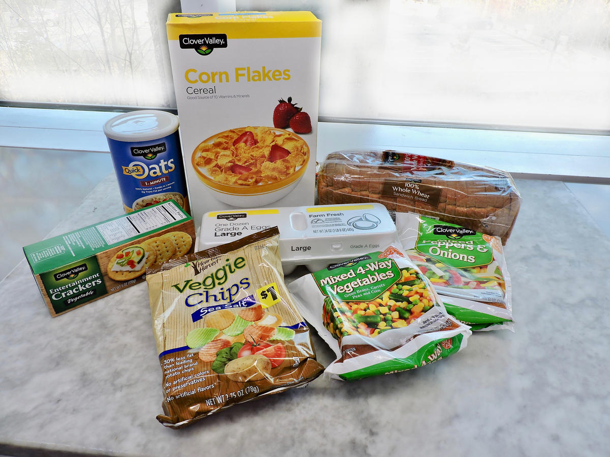 Healthy Food And Groceries You Can Buy At The Dollar Store