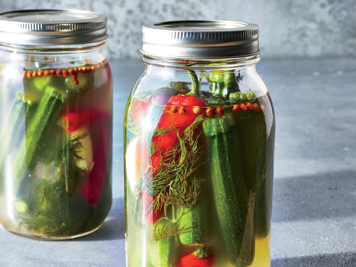 Make Your Own Probiotic Fermented Zucchini Pickles Recipe Cooking
