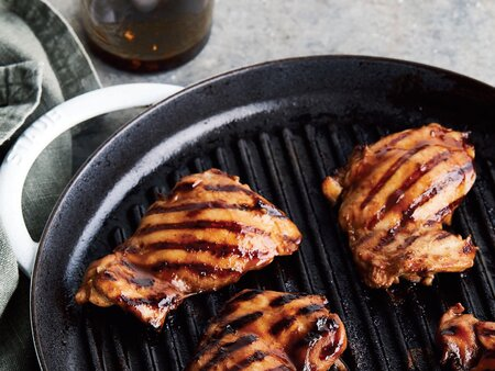 Vietnamese Style Grilled Char Siu Chicken Recipe Cooking Light