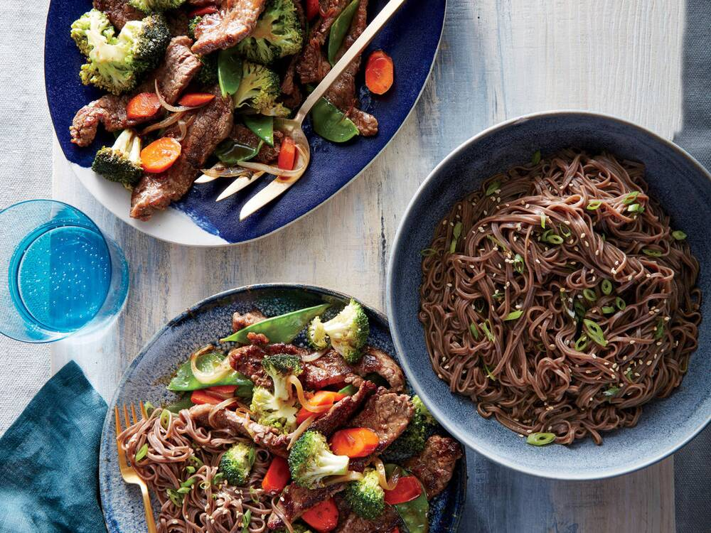 mongolian beef and vegetables recipe cooking light