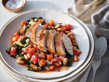 Tuscan Chicken With White Beans And Kale Recipe Cooking Light