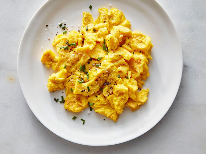 Diner style scrambled eggs recipe cooking light diner style scrambled eggs forumfinder Gallery