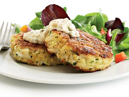 Recipe Makeover Healthy Crab Cakes Recipes Cooking Light