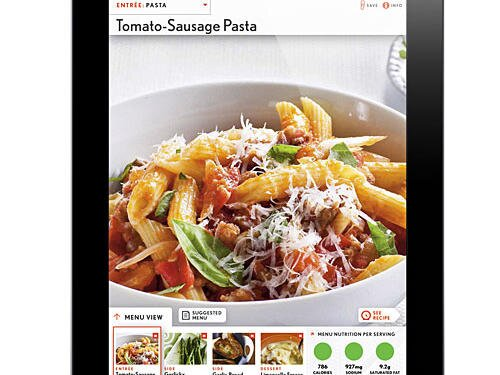 App help quick healthy menu maker cooking light cooking lights quick and healthy menu maker ipad app forumfinder Gallery