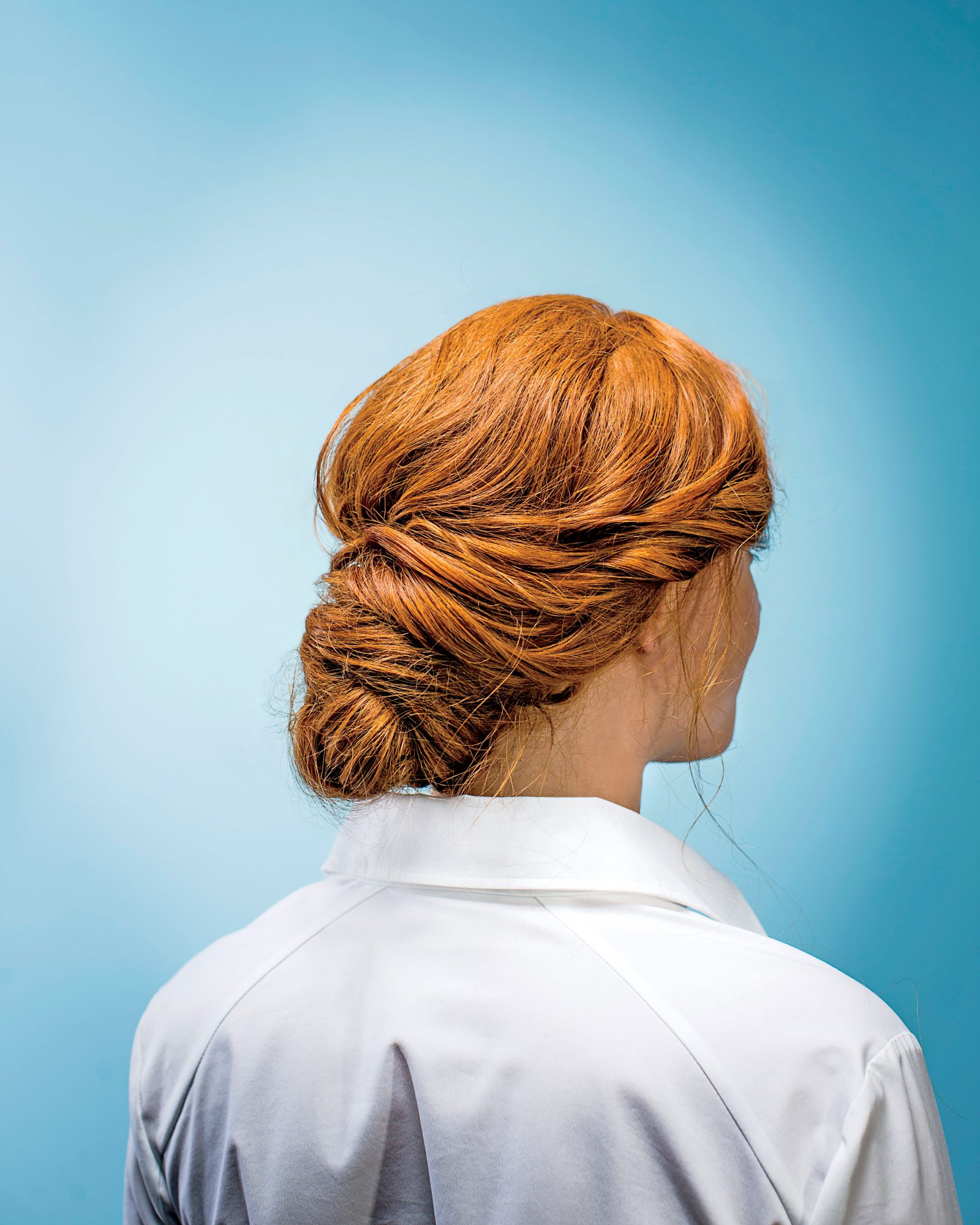 Up With A Twist Our Elegant Easy Messy Bun Southern Living