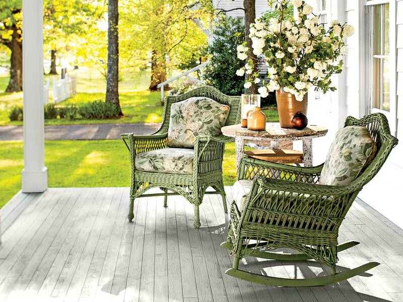 Front Porch with Green Rocking Chairs - The One Thing I Wish I Knew Before Buying Rocking Chairs For Our