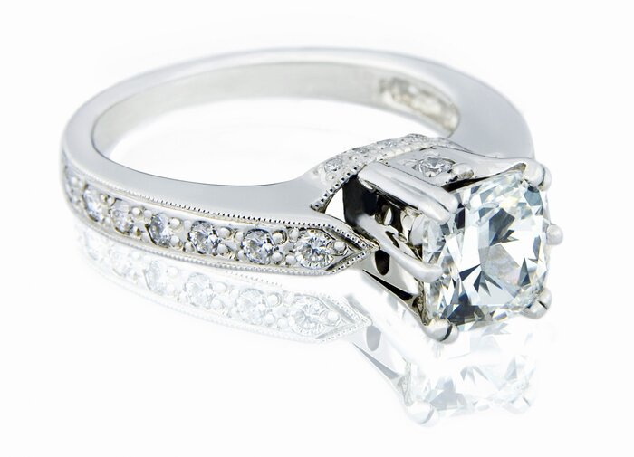 diamond engagement ring - Wedding Rings Houston