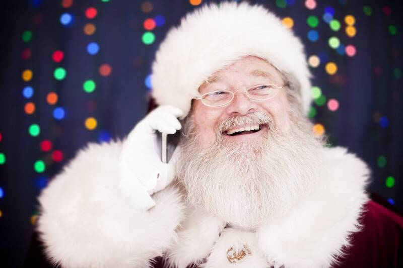 forget stamps you can reach santa claus by phone southern living