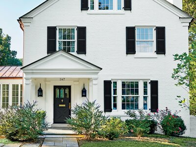 Painting Your Front Door This Color Can Increase Your Homes Selling - Painting-an-exterior-door