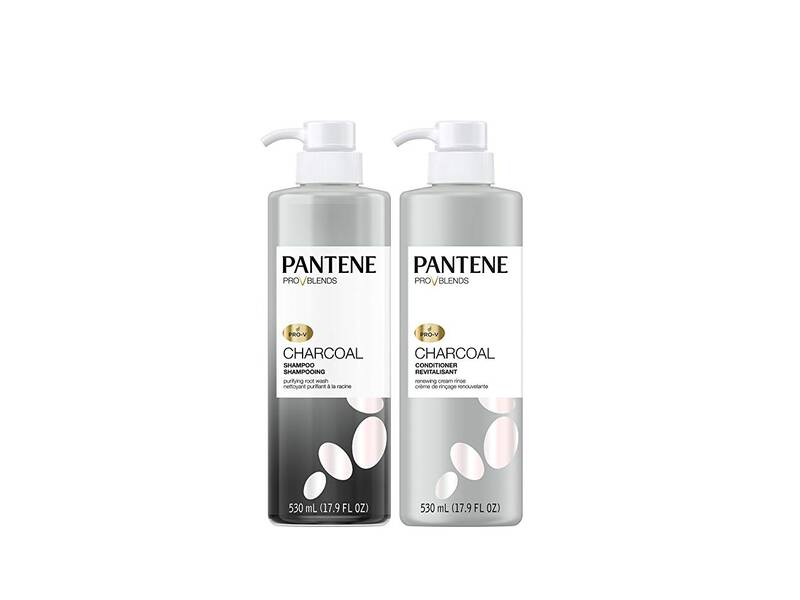 pantene charcoal shampoo and conditioner review southern living