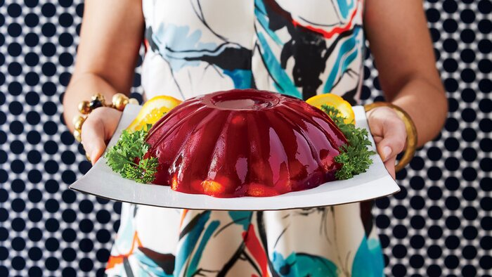 50 years of southern recipes southern living molded cranberry salad 60s forumfinder Choice Image